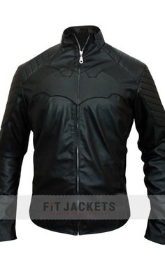 """The attractive design Batman Begins Jacket worn by Christian Bale in the movie """"Batman Begins"""". Avail free worldwide shipping with free gifts and secure checkout. Shop it exclusively in our Deals!!  #BatmanBegins #ChristianBale #BruceWillis #Shopping #Hot #Sexy #Stylish #LeatherOutfit #clubs #movie #Hollywood #Fashion #MensOutfit #MensFashion #StyleMens #MensClothing"""