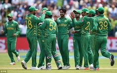 Pakistan will favour their chances of claiming a spot in the Champions Trophy final