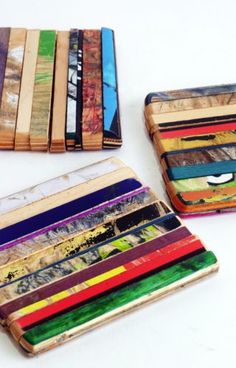 Ripped-Coaster-Set-of-3-Three-by-Deckstool-Recycled-Skateboards