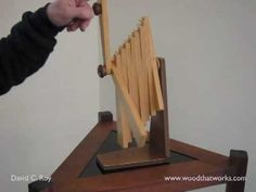 The Beginning.... Zylo - YouTube Kinetic Toys, Kinetic Art, Metal Crafts, Wood Crafts, Kinetic Architecture, Marble Machine, V Video, Wind Sculptures, Wooden Projects