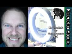 DIY Ring Light for Video and Pictures - YouTube
