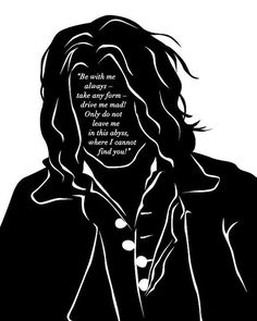 Wuthering Heights Heathcliff Quote Art Print by 10cameliaway