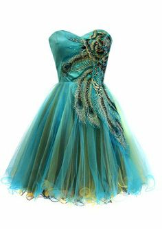 metallic peacock embroidered holiday homecoming bjua