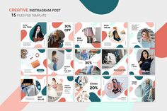 Instagram Banner – Online Fashion Store, is a professional, modern and elegant template for your Instagram posts or stories. Inspirational boards, daily stories, interesting portraits, introduce your products and much more. With this Instagram post template, you can easily improve the quality of your Instagram with a more attractive and professional one. This template is fully editable and can be customized in Adobe Photoshop. Instagram Banner, Instagram Shop, Instagram Posts, Instagram Design, Envato Elements, Banner Online, Facebook Cover Template, Instagram Post Template, Social Media Design