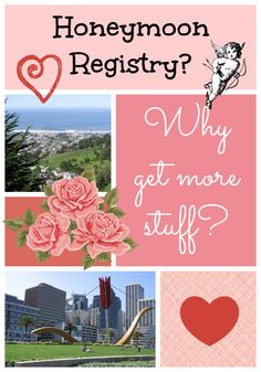 An alternative to the traditional #wedding registry, a #honeymoon registry! Chronicles of Nothing