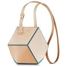 HEIO - The Cube Turqueta Small Crossbody 400 euro