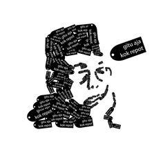 "2010 | copy-paste illustration ""Gitu Aja Kok Repot"" (Gusdur)"