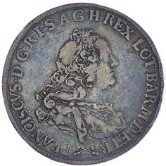 Franz II./III. von Lothringen 1737 - 1765 Francescone 1761 Silber