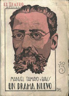 TAMAYO y BAUS, Manuel. Escritor Madrid 1829-1898