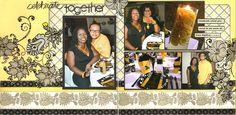 DCWV Lemon Flower Stack & Black Currant Stack