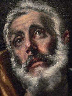The Penitent Saint Peter by El Greco 1595-1600 CE Spain Oil on Canvas by mharrsch, via Flickr
