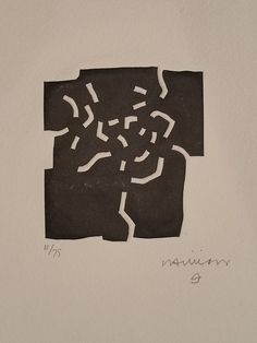 Eduardo Chillida, works on paper – from the series Elogio a la luz. Abstract Sculpture, Abstract Art, Modern Art, Contemporary Art, 7 Arts, Graphic Design Posters, Gravure, Art Boards, Printmaking