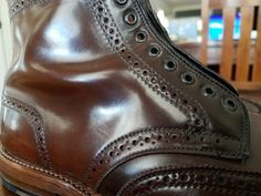 Alden Cigar Shell Cordovan Shortwing Boots | 8.5D | Barrie | eBay