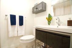 New bathroom, Michael and Karen - Season 8 Income Property, Production Company, Season 8, Hgtv, Bathrooms, Design, Bathroom, Full Bath