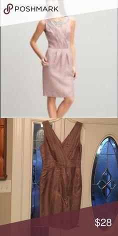 Banana Republic Bianca Sheath Dress NWT Brand NWT size 10 no damage ***beautiful Blush Banana Republic Dresses Midi