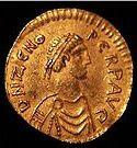 Profiel van Keizer Flavius Zeno van het Oost Romeinse Rijk