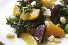 Beet, Olive, and Kale Salad by Giada De Laurentiis | GiadaWeekly.com