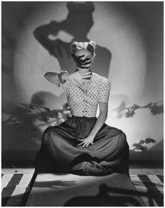 Horst Paul Albert Borkmann Horst - Bunny Hartley, Vogue, 1938