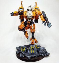 Tau Commander by Arawn Nicholson