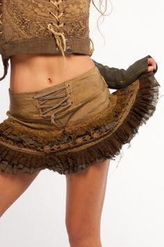 Goa Miniskirt with frilly layers... do like it a LOT but I'd have to wear leggings or jeans underneath!!