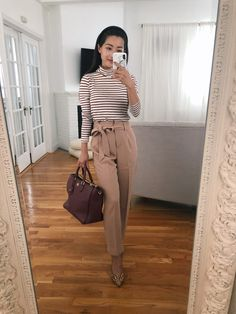 5 Business Casual Work Outfit Ideas // Extra Petite