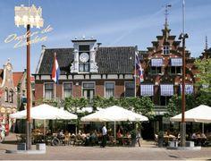 Sneek - terras van Serre Restaurant Onder de Linden in hartje centrum