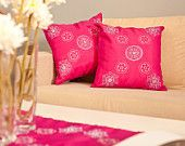 #oriental #pillowcase #pink #embroidery #fashion