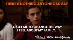 "S1 Ep6 ""Saturday"" - LOVE!!! #TheFosters"