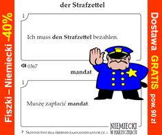 Strafzettel - mandat
