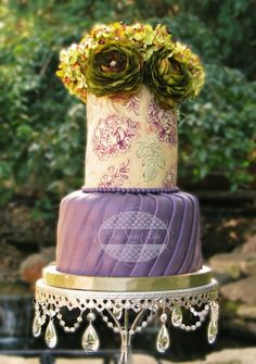 Olive and Eggplant cake - Cake by Julie Tenlen