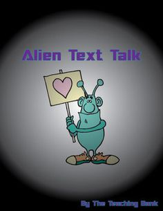 Alien Text Talk is a fun new take on daily oral language exercises. Instead of just proofreading and correcting punctuation, grammar, and spelling ...