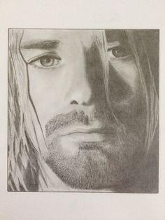 My Kurt Cobain drawing