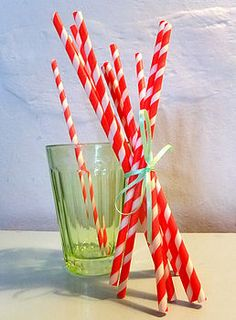 Stripey Paper Straws Pack Of 10 by Creative and Contemporary, the perfect gift for Explore more unique gifts in our curated marketplace. Ghostbusters Party, St Georges Day, Paper Straws, Red And White Stripes, Color Splash, Unique Gifts, St George's, Packing, Fancy