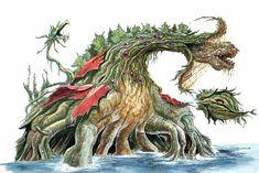 Image - Concept Art - Godzilla vs. Biollante - Biollante 16.png ...
