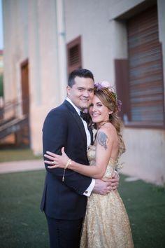 Wedding Dress: Sarah Seven…
