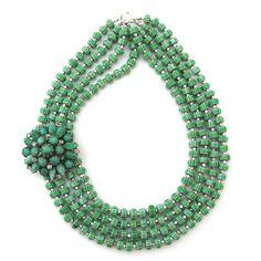 Blessed with Plenty necklace by Elva Fields #elvafields  Another beauty from Elva Fields