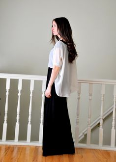 The cropped tapered rectangle top
