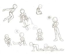 Image result for Drawing-children-poses