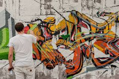 Graffiti creator - Mauerpark, Berlin  Paint down this wall! | Flickr - Photo Sharing!
