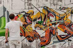 Graffiti creator - Mauerpark, Berlin  Paint down this wall! | Flickr - Photo Sharing!