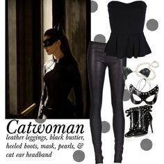 diy catwoman costume - Google Search