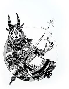 hunters//gatherers by Trek Matthews, via Behance