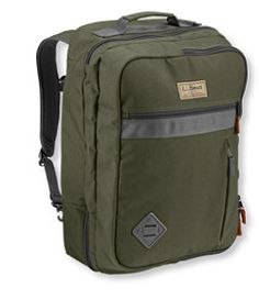 #LLBean: Continental Travel Pack  like that it opens to split in half like a pullman style suitcase