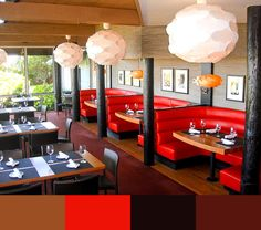 top 30 restaurant interior design color schemes - Restaurant Interior Design Ideas