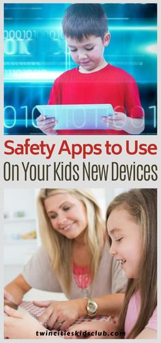 Twin Cities Kids Club Blogs: Safety Apps to Use on Your Kids New Devices - Technology has become both widely available and heavily used in most aspects of our lives. As we're sure you've noticed, even kids use technology (and well!) these days. But as with most forms of technology, particularly those associated with the internet, there can be issues of safety. #safetyapps #safetyappsforkids #Internetsafety #saferInternetforkids #kidsapps #parenting #parentingtips #parentinghacks