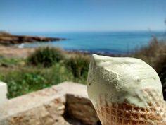 ice cream in Praia da Luz ;)