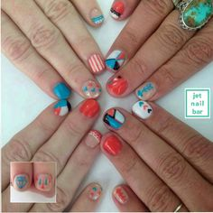 Nail art with friends