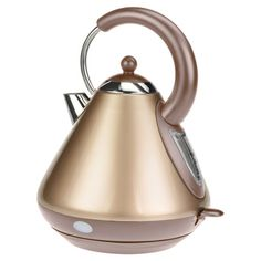 Electric tea kettle with a detachable lid and rotating base.Product: Tea kettle  Construction Material: Stainless...