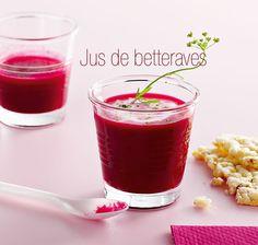 Excellent au goût et bon pour la santé, le jus de betteraves ! #blancheporte