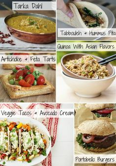 Vegetarian and Vegan Dinner Ideas